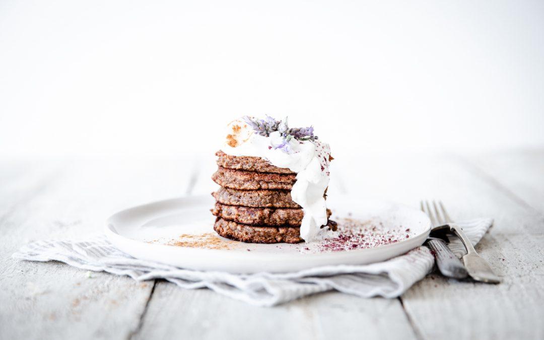 Sweet Potato & Cinnamon Hotcakes