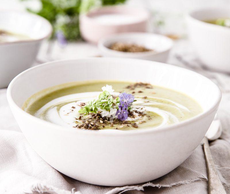 Creamy Chicken & Vegetable Soup