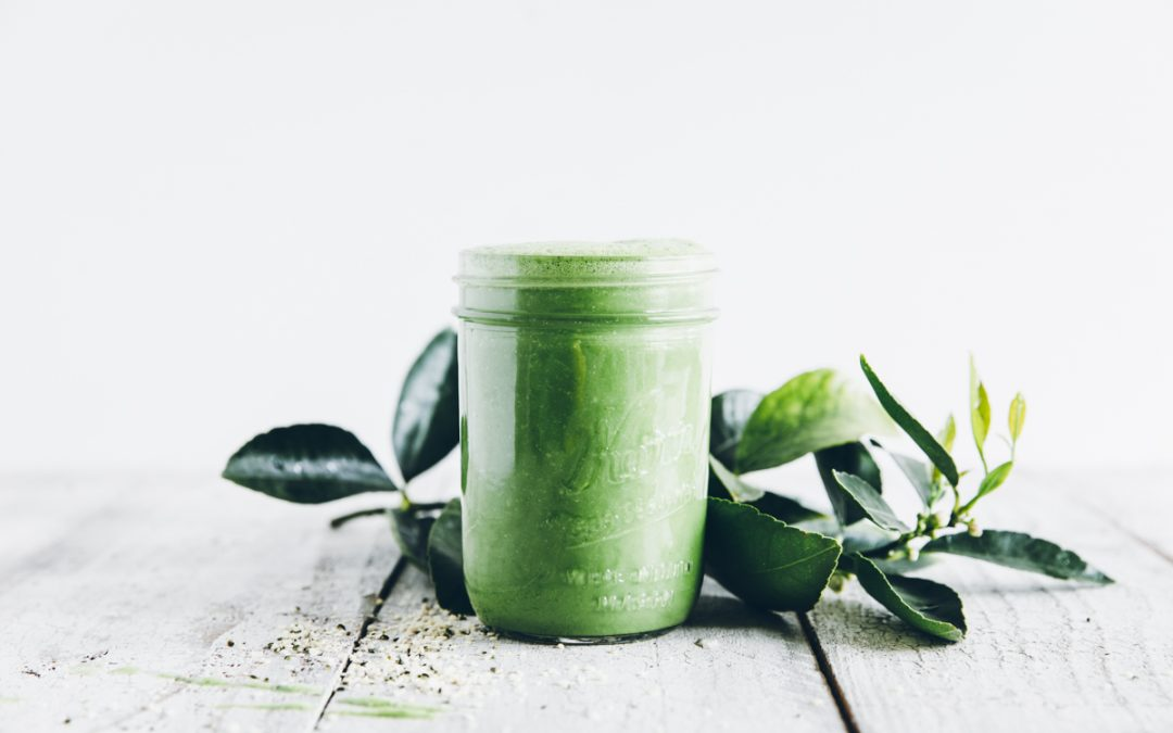 Hemp Seed Green Smoothie
